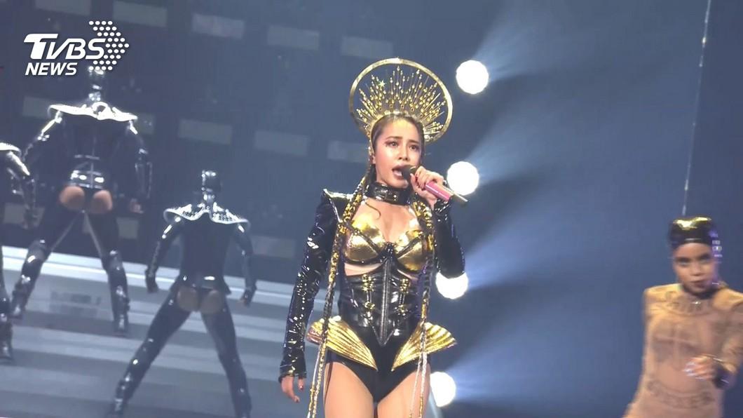 圖/TVBS資料畫面 疫情衝擊!蔡依林演唱會宣布延期 退票方式出爐