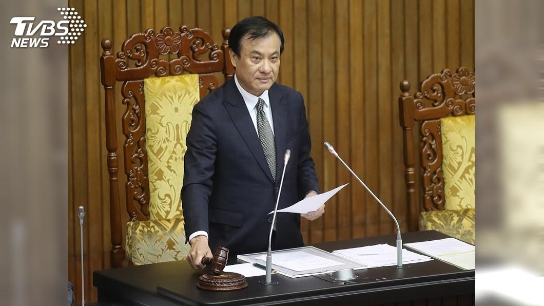 圖/中央社 立院表決通過反滲透法 接受滲透競選遊說將重罰