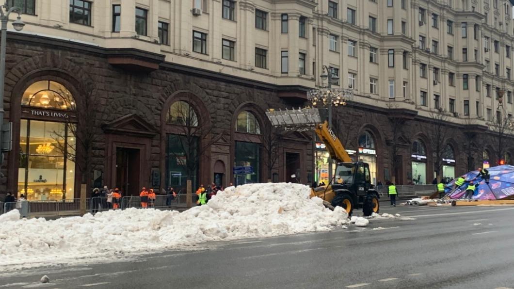 圖/翻攝自 Alexey Navalny twitter 莫斯科暖冬無雪!民眾發起