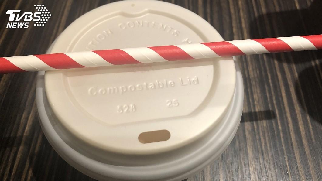 圖/中央社 先租杯子再喝咖啡 舊金山帶頭吹環保風