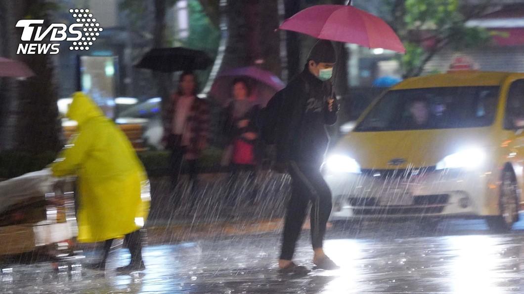 圖/中央社 防災專家示警 2020台灣進入氣候緊急狀態
