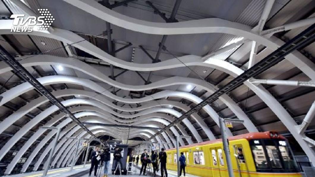圖/達志影像美聯社 全白色系月台超好拍! 新澀谷車站今啟用