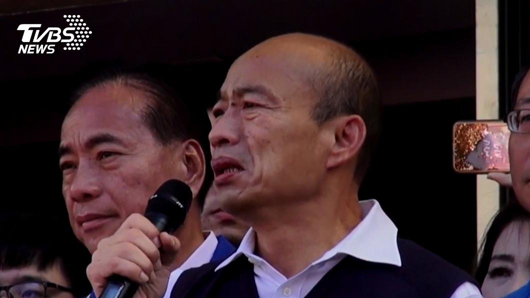 圖/TVBS資料畫面 遭爆曾申請移民 韓陣營:感謝證明無雙重國籍