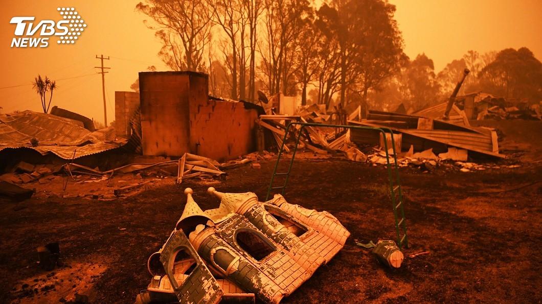 圖/達志影像路透社 澳洲野火持續焚燒 疏散群眾返家遙遙無期