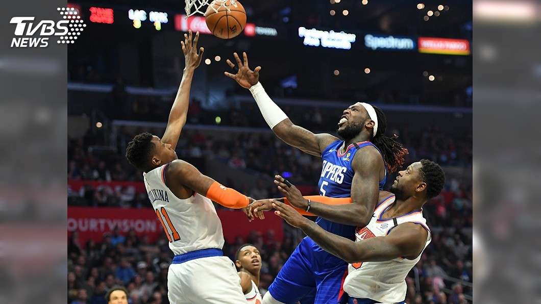 圖/達志影像路透社 隊史首度3人得分30以上 NBA快艇逆轉勝尼克