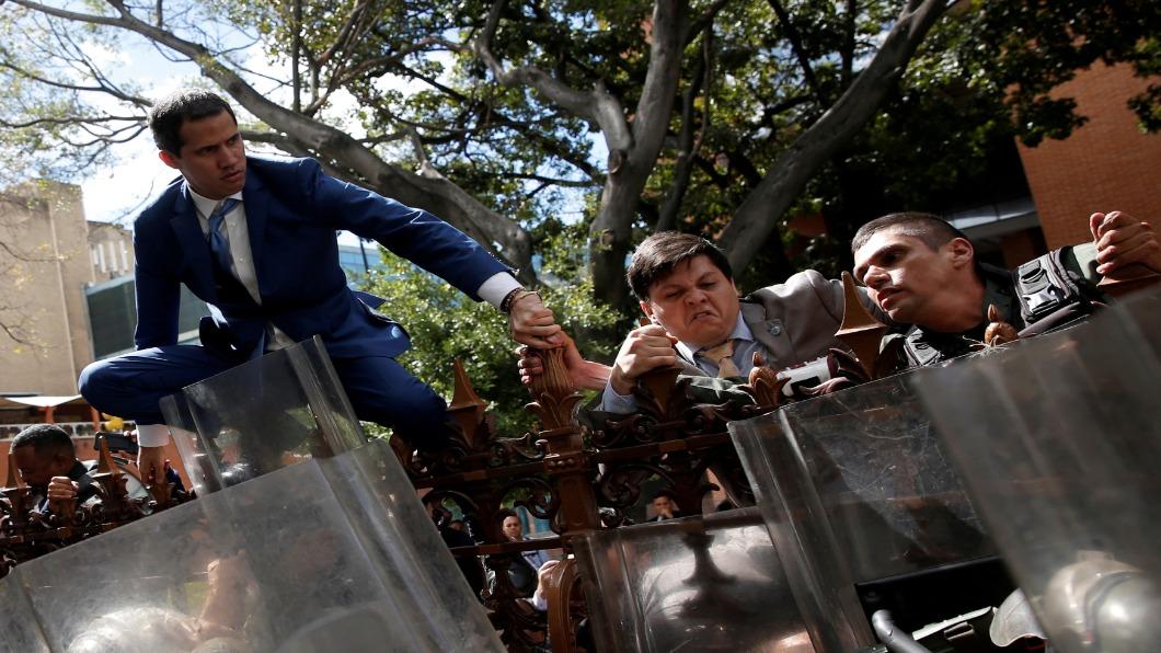 圖/達志影像路透 總統鬧雙胞後..兩個議長!委內瑞拉再添亂局