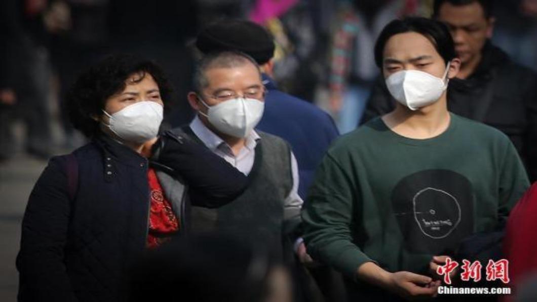 示意圖/翻攝自 中新網 武漢不明肺炎蔓延 香港懷疑病例增至17例