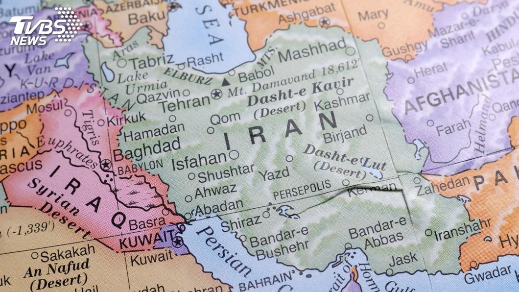 示意圖/TVBS 22枚飛彈攻擊兩處基地 伊拉克軍方宣稱無傷亡