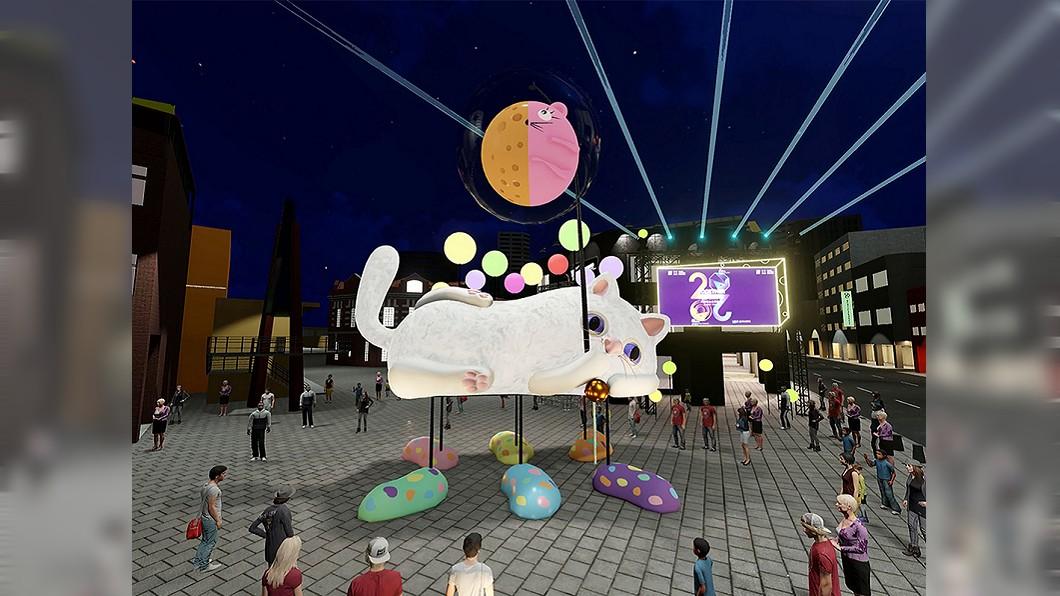 圖/台北市觀傳局提供 台北燈節首度「雙主場」 貓咪與機車變花燈