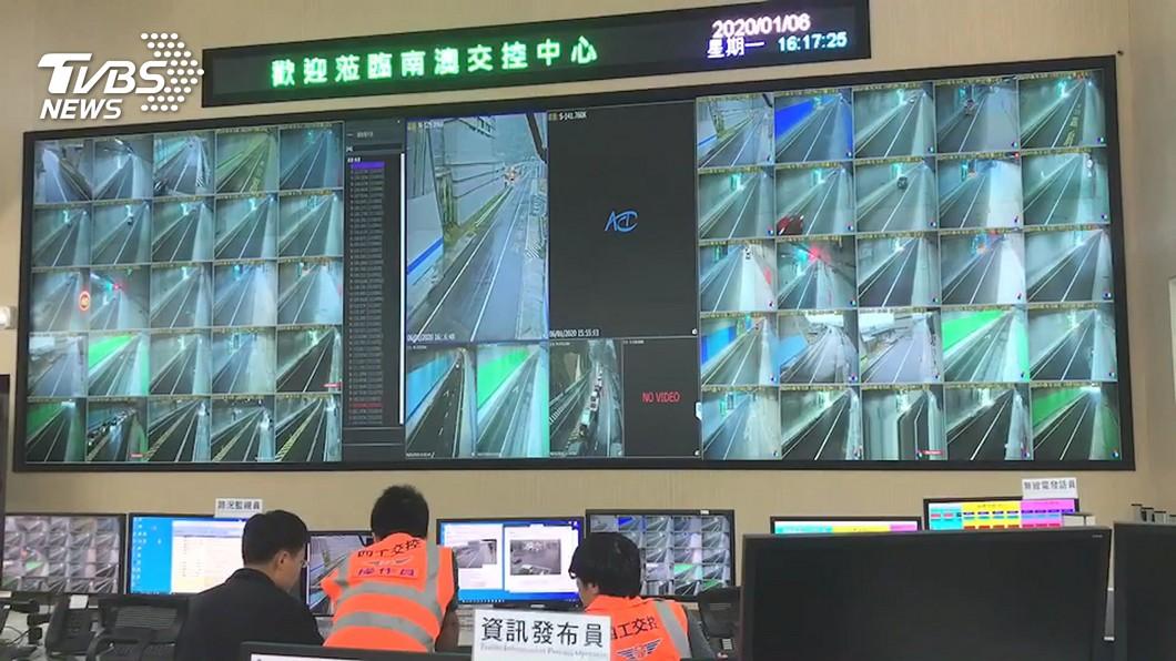圖/TVBS 快訊/蘇花改通車一天 「觀音、谷風隧道」開74張紅單