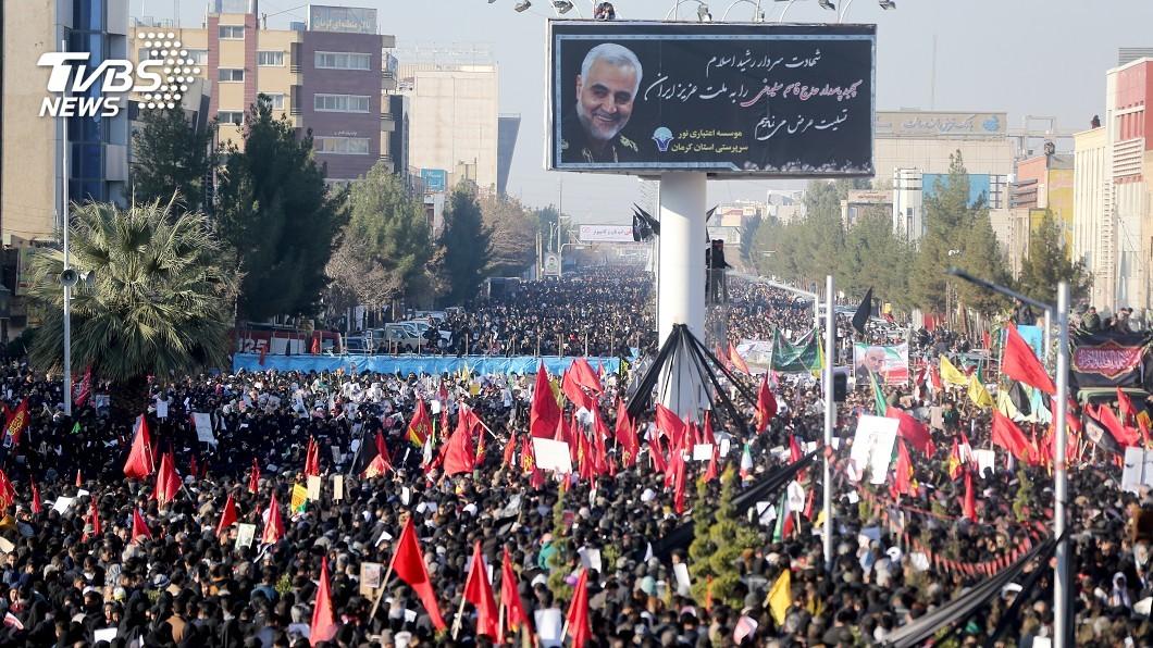 圖/路透社 怒火!伊朗募集24億台幣 懸賞川普項上人頭