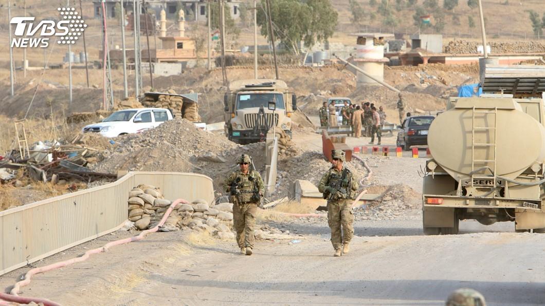 圖/達志影像路透社 美官員:伊拉克多地恐已遭攻擊 包括空軍基地