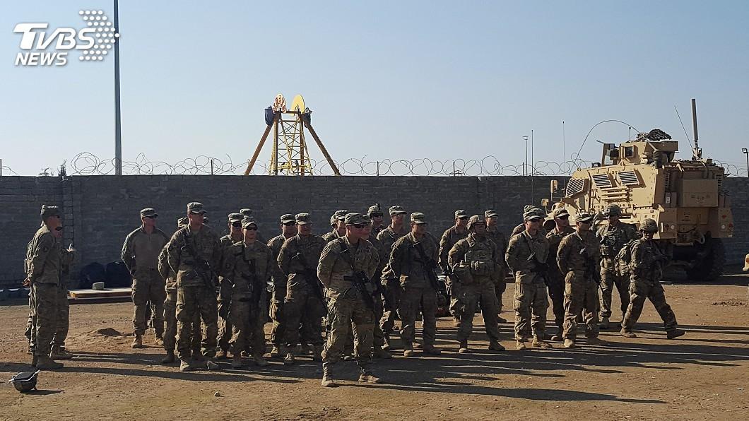 圖/達志影像路透社 美國官員證實 伊朗對駐伊拉克美軍開始發動攻擊