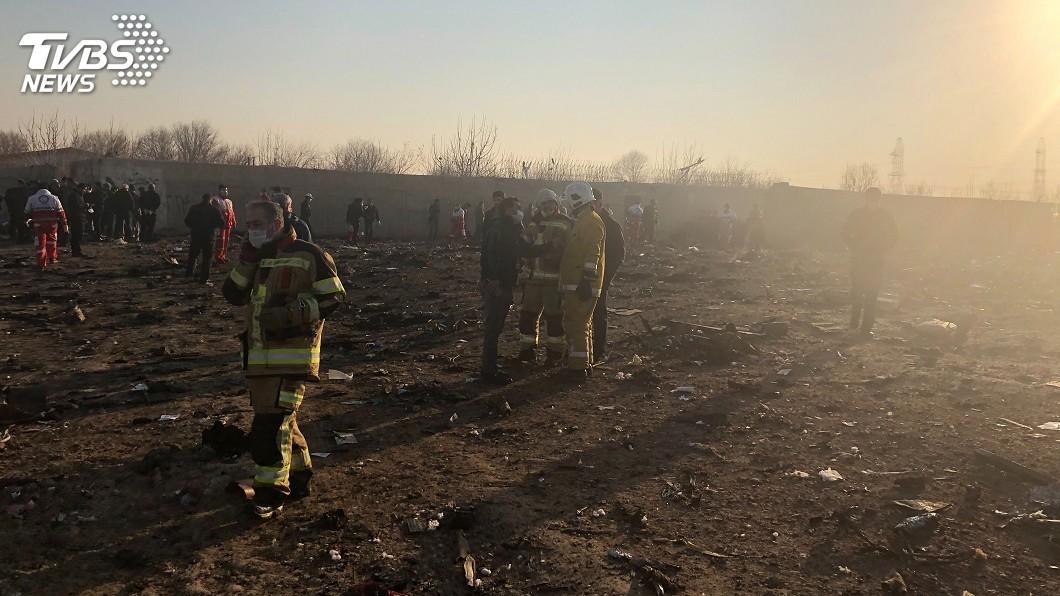圖/達志影像美聯社 烏克蘭航空班機墜機伊朗 機上170人全數罹難