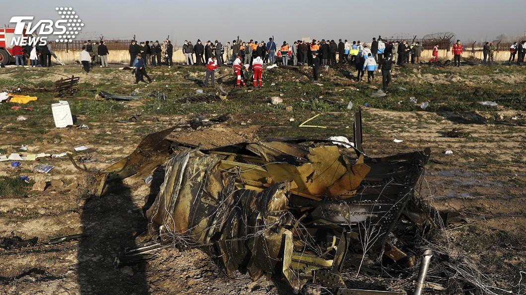圖/達志影像美聯社 客機墜毀時機敏感 烏克蘭:原因調查不能排除攻擊