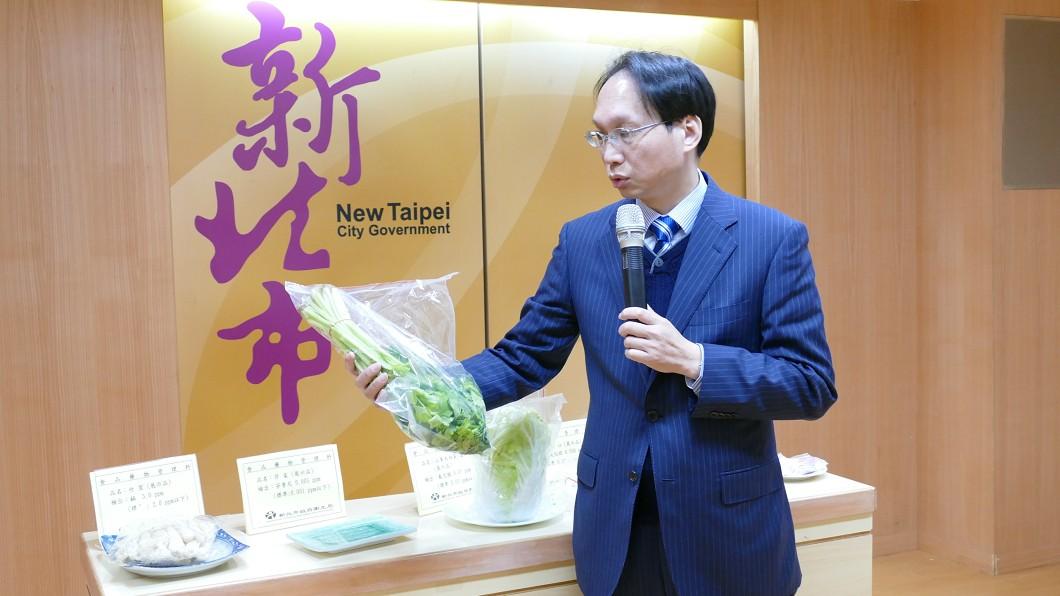 圖/新北市府衛生局提供 新北檢驗春節食材 竹笙山東大白菜超標