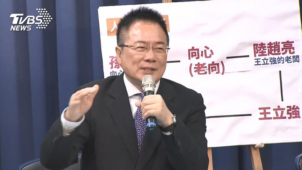 圖/TVBS 捲入王立強共諜案 蔡正元痛批:騙子戲碼