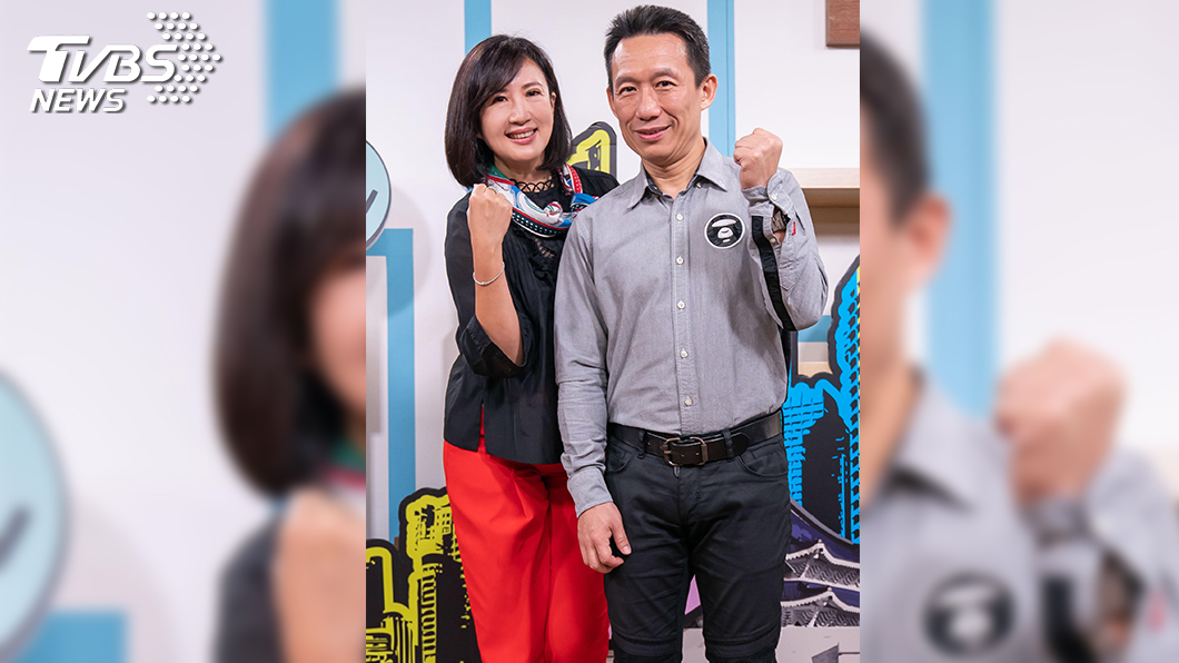TVBS 新聞主播方念華與郭子乾,再度合作選舉開票。圖為2018年底兩人首度合作。(圖/TVBS)  方念華x郭子乾再度合作開票 郭子乾:下次找我播新聞