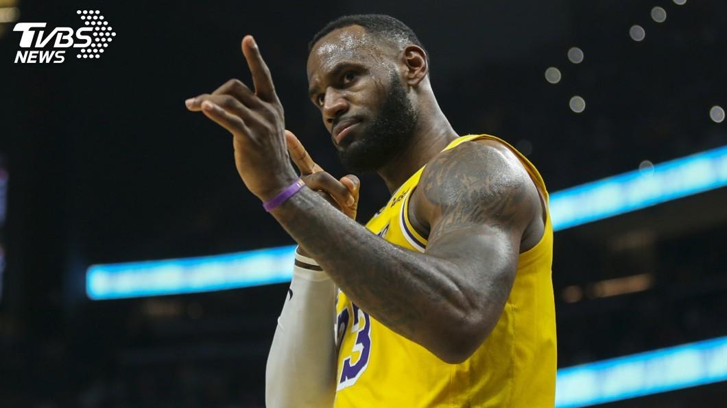 圖/達志影像路透社 NBA明星賽球迷票選第2階段 詹姆斯躍居領先