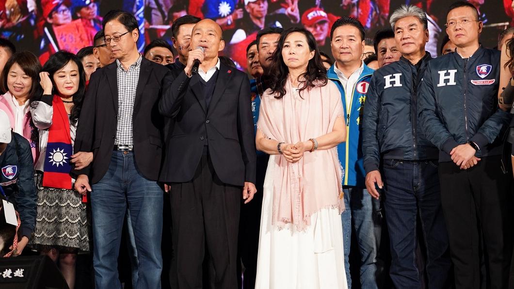 韓國瑜在凱道舉行選前造勢,現場百萬韓粉到場支持。(圖/翻攝自韓國瑜臉書) 百萬韓粉擠爆凱道挺韓國瑜 他4字神解:因為要活