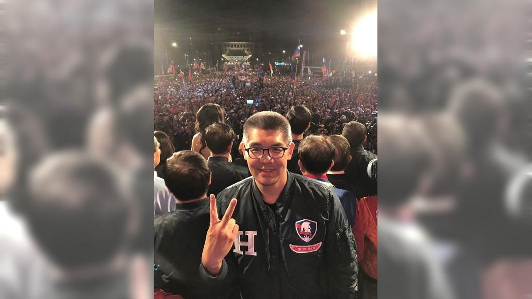 連勝文認為,若是想要改變台灣,就要將票投給韓國瑜及國民黨。(圖/翻攝自連勝文臉書) 逆向操作!連勝文:票投韓國瑜不用喜歡他