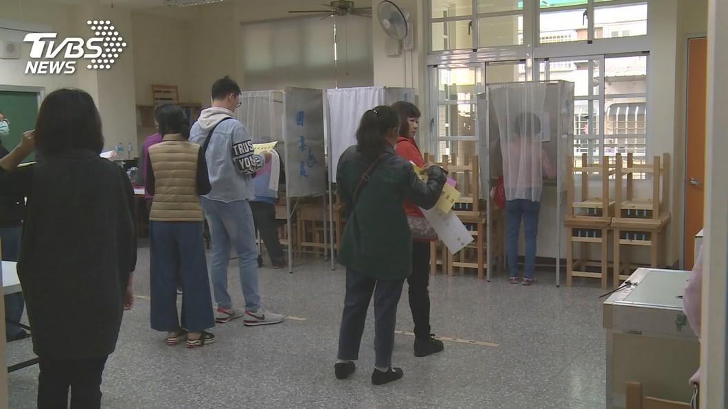 圖/TVBS 總統立委投票 警署:全日違規49件47人