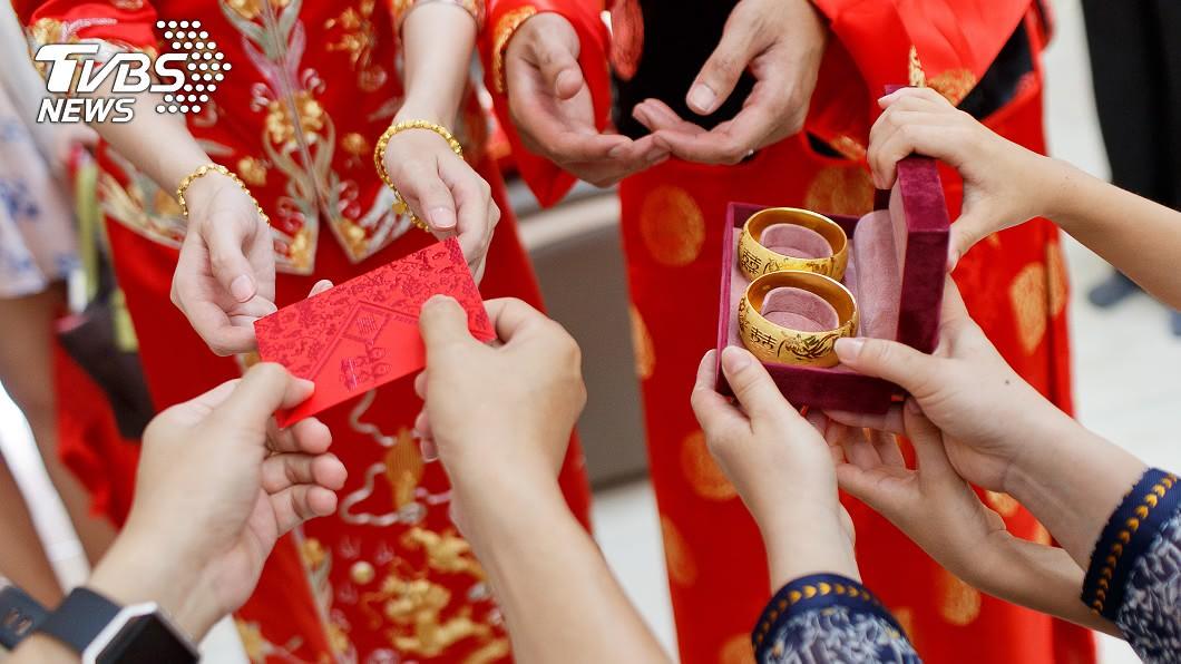 現代人的聘金都是怎麼收呢?(示意圖/TVBS) 嫁女兒聘金要怎麼收? 網友揭1做法:才有面子