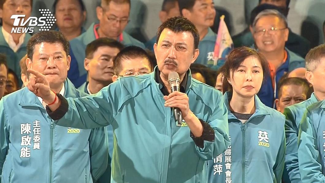 余天稍早自行宣布當選。(圖/TVBS資料畫面) 立委戰報/連任成功!新北余天自行宣布當選