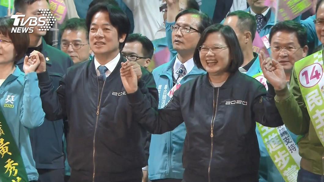 圖/TVBS 蔡總統順利連任 外媒:北京想贏台灣民心須釋善意