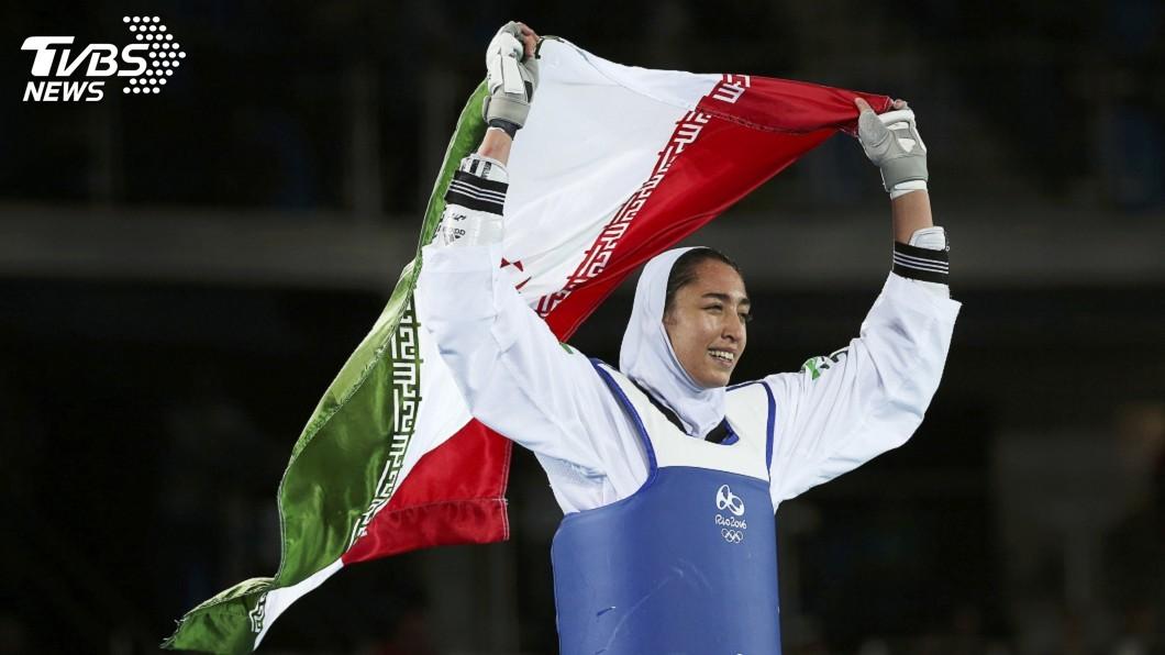 圖/達志影像路透社 不滿政府壓迫羞辱 伊朗唯一奧運奪牌女將出走
