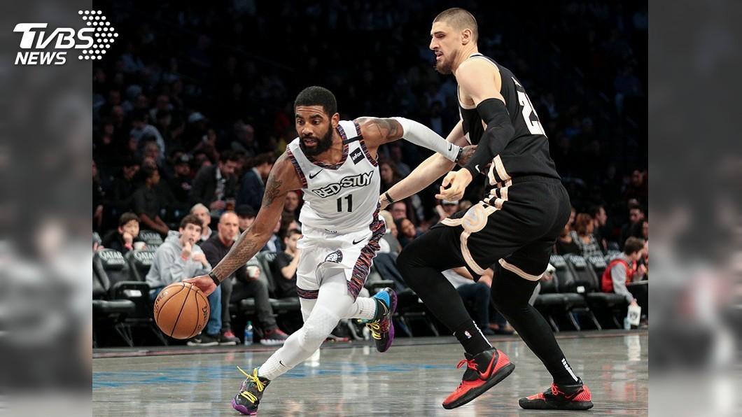 圖/達志影像路透社 厄文強勢復出攻下21分 NBA籃網輾壓老鷹