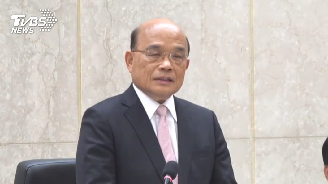 圖/TVBS資料畫面 蘇揆4指示全面防堵武漢肺炎 隱匿病史從重處罰