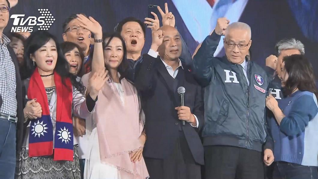 韓國瑜以552萬票輸給對手蔡英文817萬票。(圖/TVBS資料畫面) 「韓國瑜還是滿厲害」 連勝文曝:換人選結果也一樣