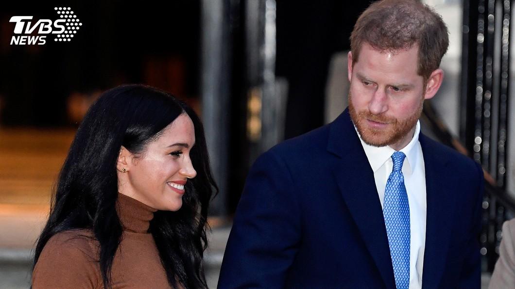 圖/達志影像路透社 英王室家族會商 女王同意哈利、梅根2地居住
