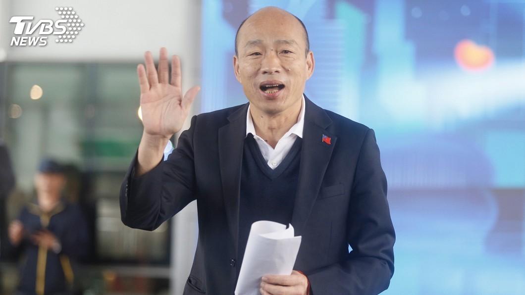 出席高雄燈會記者會 韓國瑜致詞照稿唸