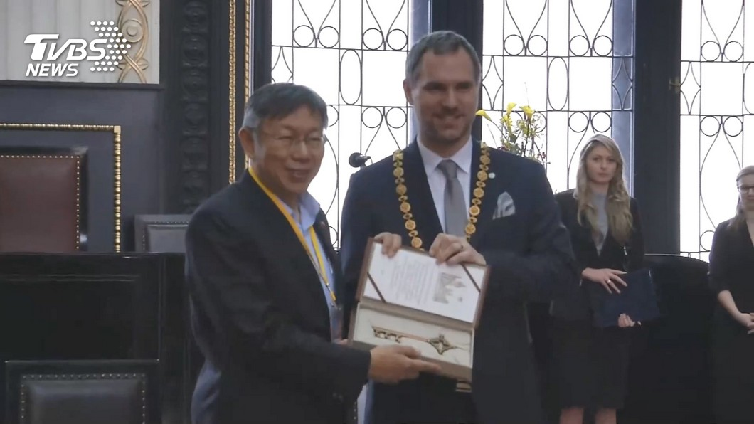 布拉格市長「愛台灣啦」 棄北京跟台「當姊妹」