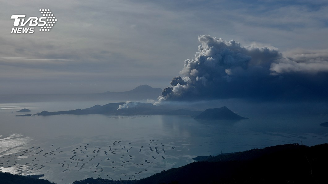 菲國塔爾火山恐大爆發! 將引致命火山海嘯