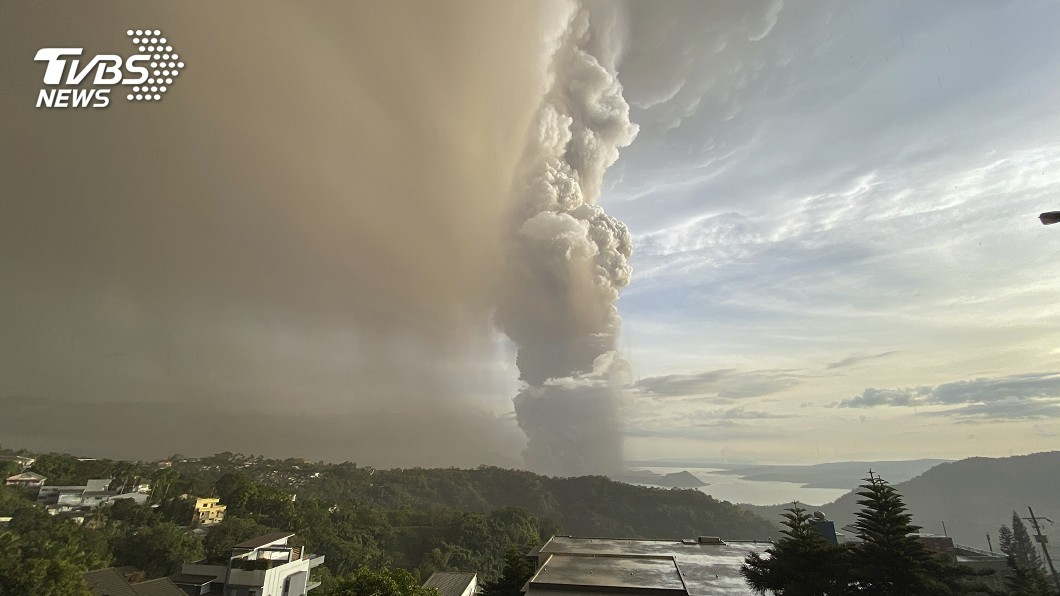 菲律賓火山瀕臨爆發 馬尼拉航班一度全取消