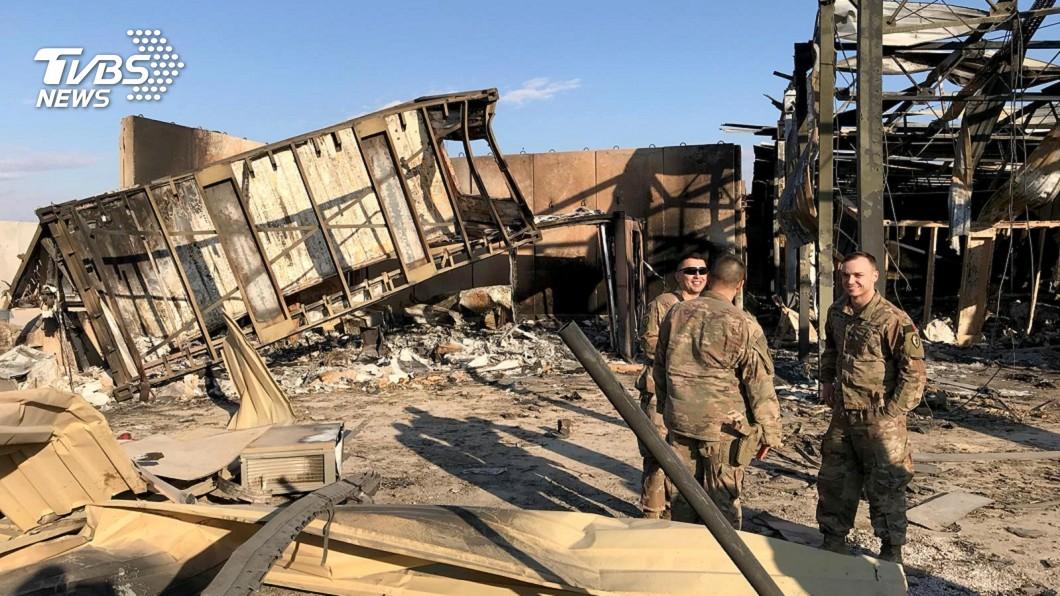 生死瞬間!伊朗狂轟濫炸 美軍躲碉堡保命