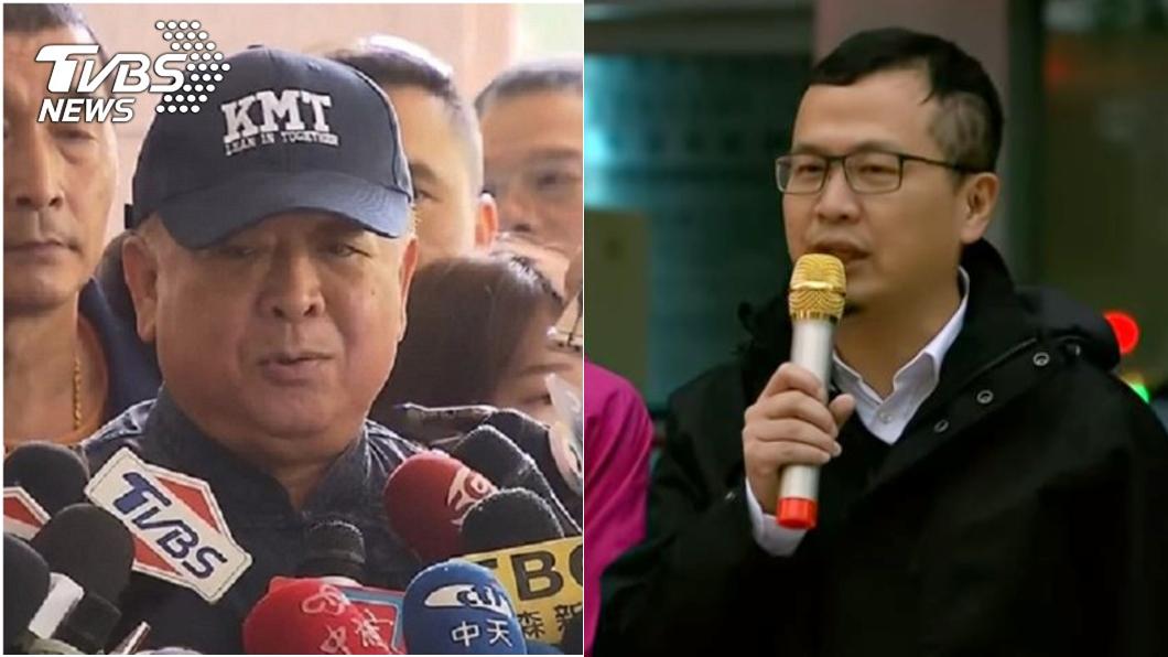 國民黨不分區立委當選人吳斯懷、台北市議員羅智強。圖/TVBS資料畫面 為了黨好!吳斯懷若肯辭 羅智強:我去跪都可以