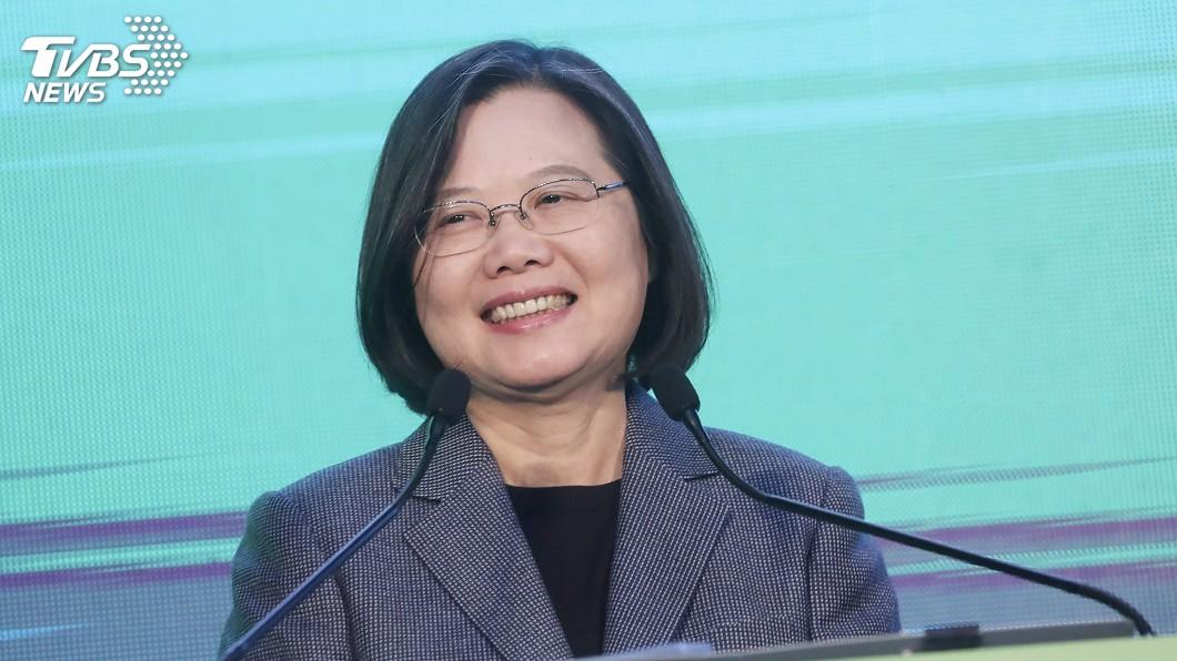 圖/中央社 蔡英文壓倒性勝利 美媒:北京干預野心最大打擊