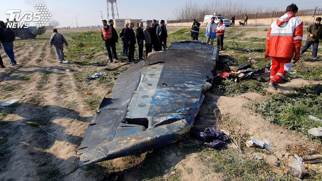 圖/達志影像路透社 紐時曝光新影像 烏克蘭客機遭2枚飛彈誤擊