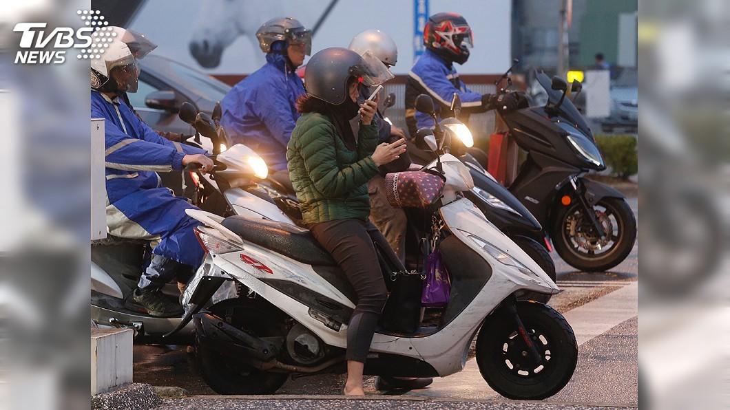 圖/中央社 周五又有新一波冷空氣南下 北台灣轉濕冷