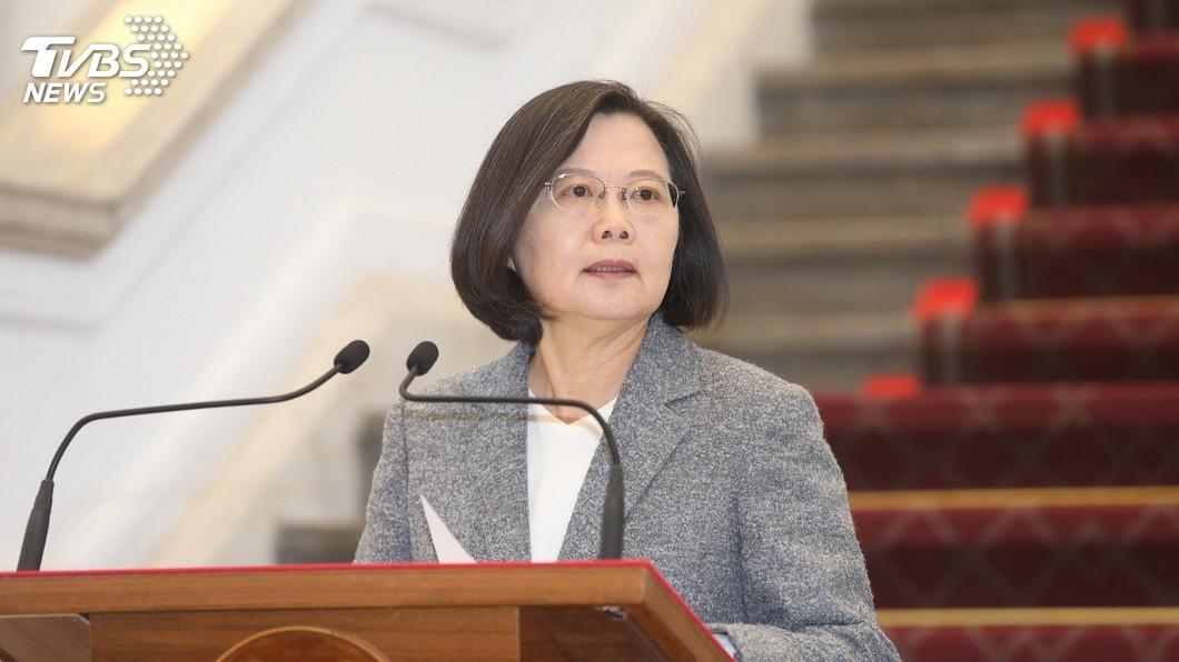 圖/中央社 選舉已結束 蔡總統:我們需要家庭和諧國家團結