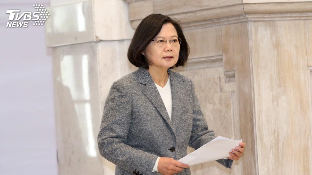 圖/中央社 遭質疑「切割香港」 蔡總統:國民黨講法錯誤
