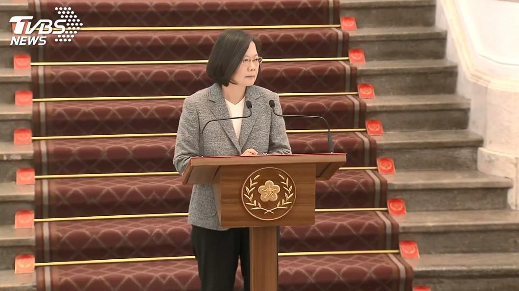 圖/TVBS 總統簽署公告反滲透法 指示政院3件事化解疑慮