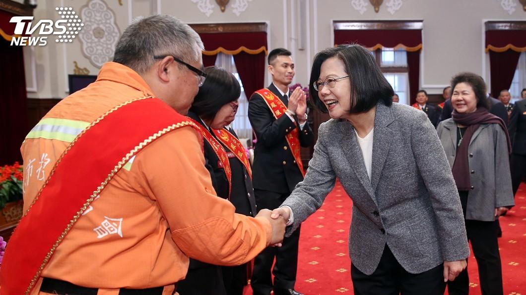 圖/中央社 強化防救災能量 總統:陸續投入32億7000多萬