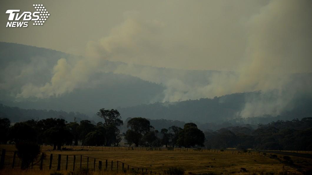 圖/達志影像路透社 澳洲野火肆虐 日派遣2架運輸機約70人助救災