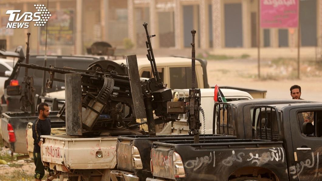 圖/達志影像路透社 川普與艾爾段通話 商討利比亞局勢發展