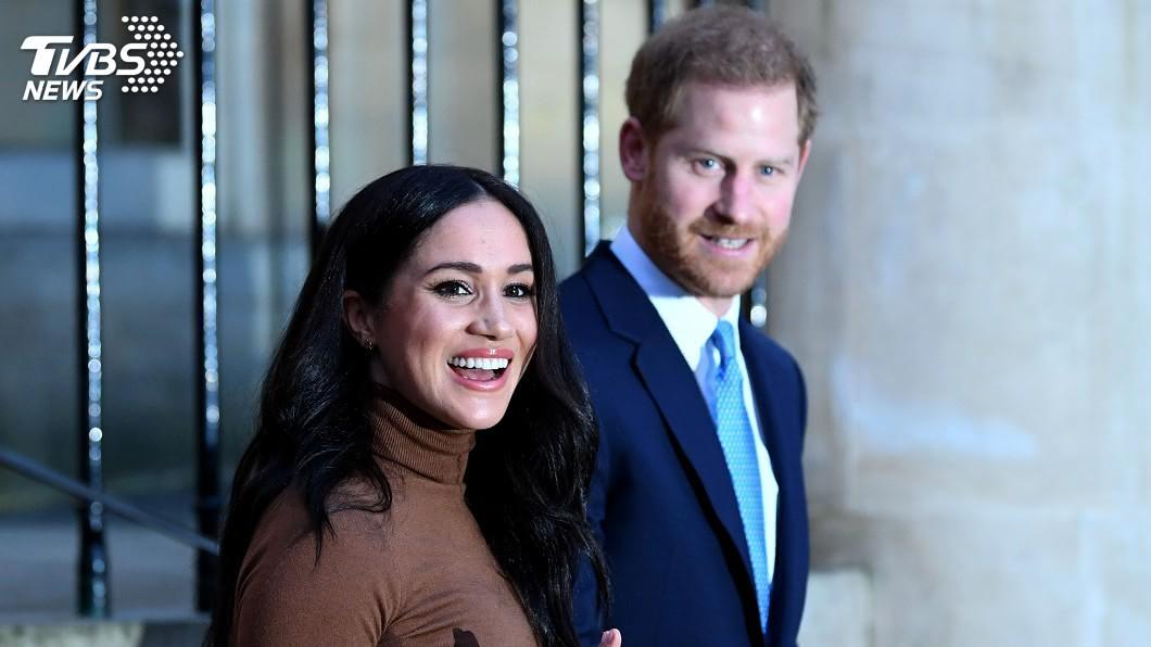 圖/達志影像路透社 宣告淡出王室後 哈利、梅根分別露面